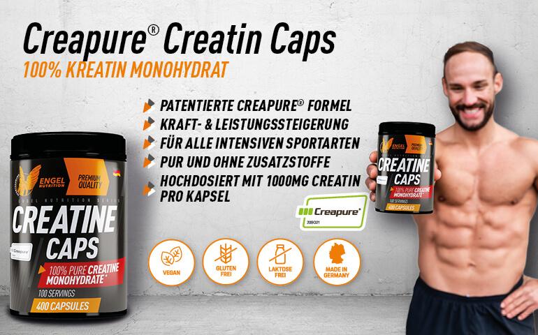 Engel Nutrition Pure Creatin Caps - Highlights LG