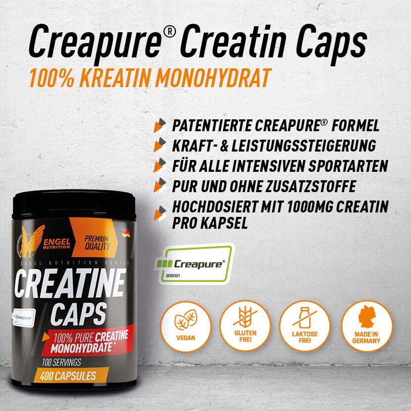 Engel Nutrition Pure Creatin Caps - Highlights XS