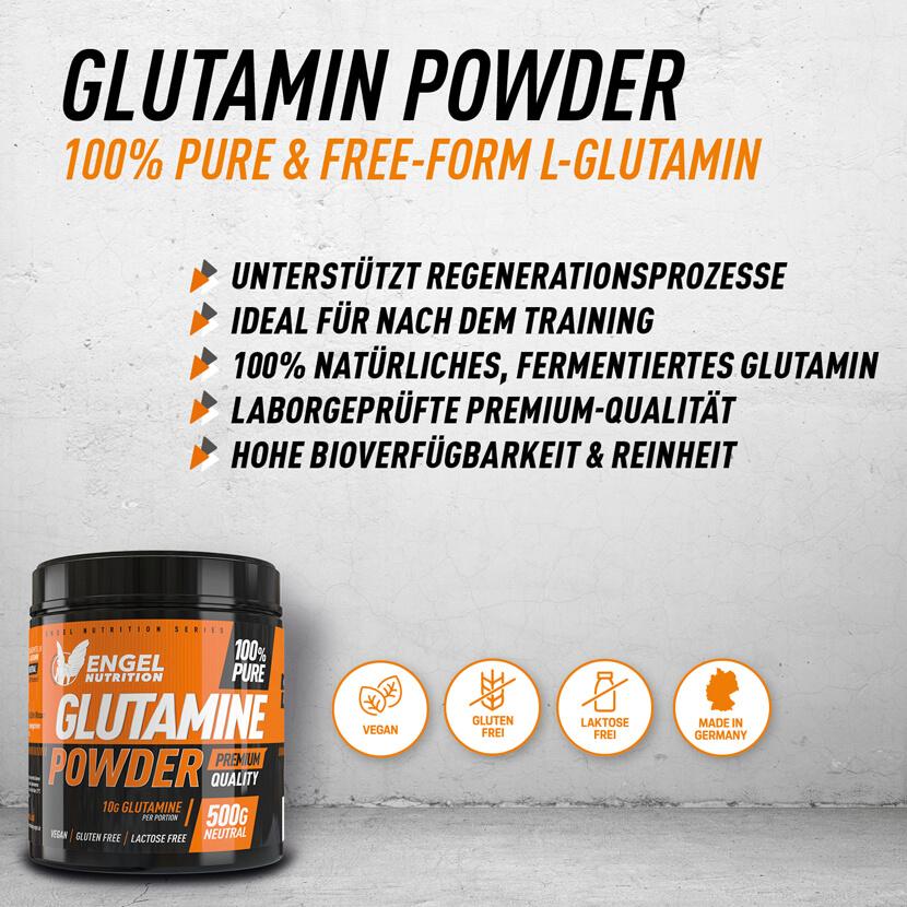 L-Glutamin Fakts Mobil