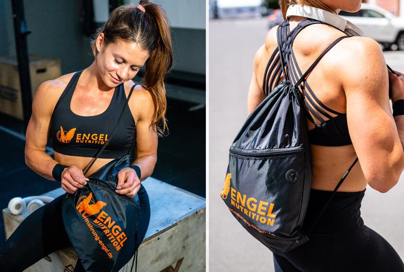 Engel Nutrition Gymbag Detailbilder XS