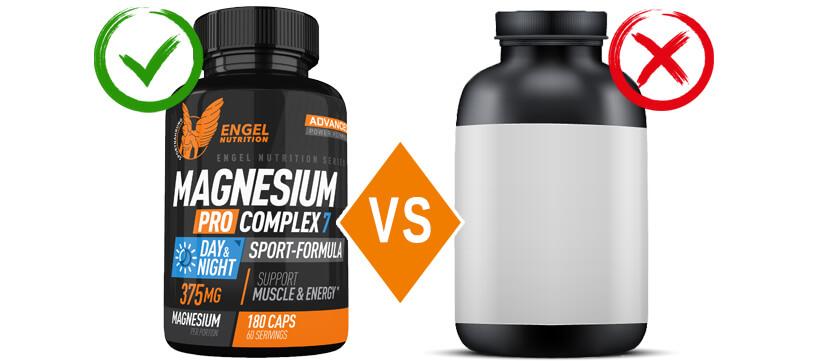 Der Vergleich von Magnesium Pro Complex 7 XS