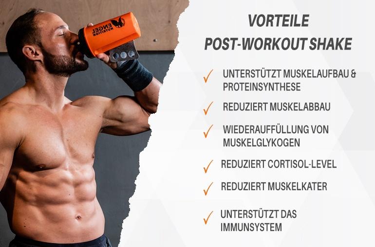 Vorteile Engel Nutrition Premium Post Workout LG