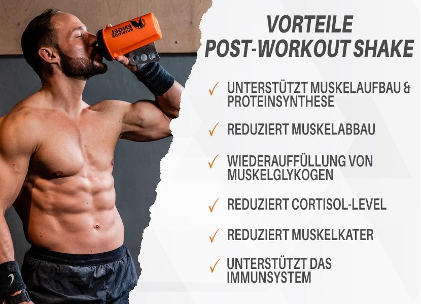 Vorteile Engel Nutrition Premium Post Workout