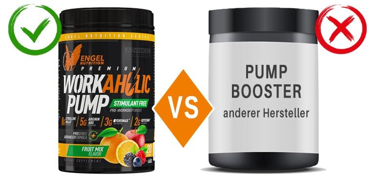 Engel Nutrition Workaholic Pump im Vergleich