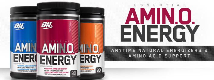 Amino Energy für vor dem Training