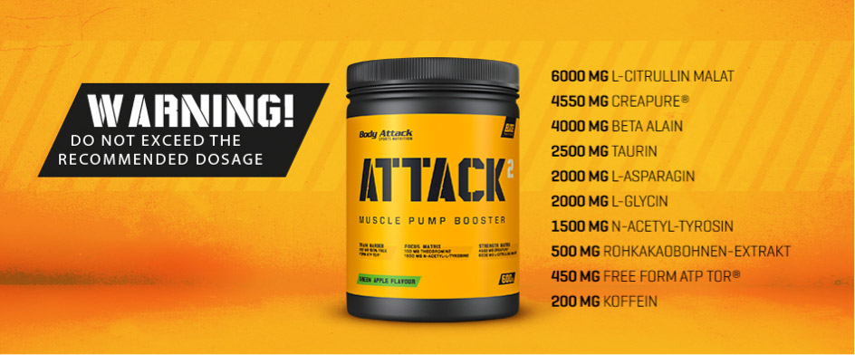 Attack2 Trainingsbooster von Body Attack