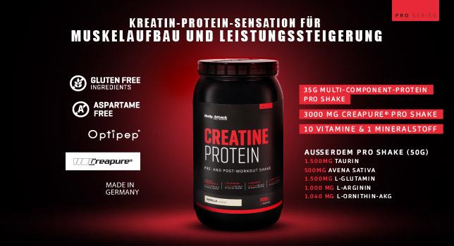 Body Attack Creatine Protein Kaufen 2kg