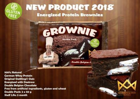 LSP Grownie leckere Schokoladen ProteinBrownies