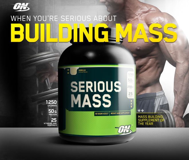 Serious Mass Weight Gainer