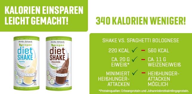 Shake zum Abnehmen für Veganer