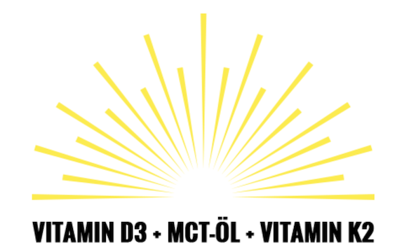Vitamin D3+ flüssig als Liquid mit MCT und K2