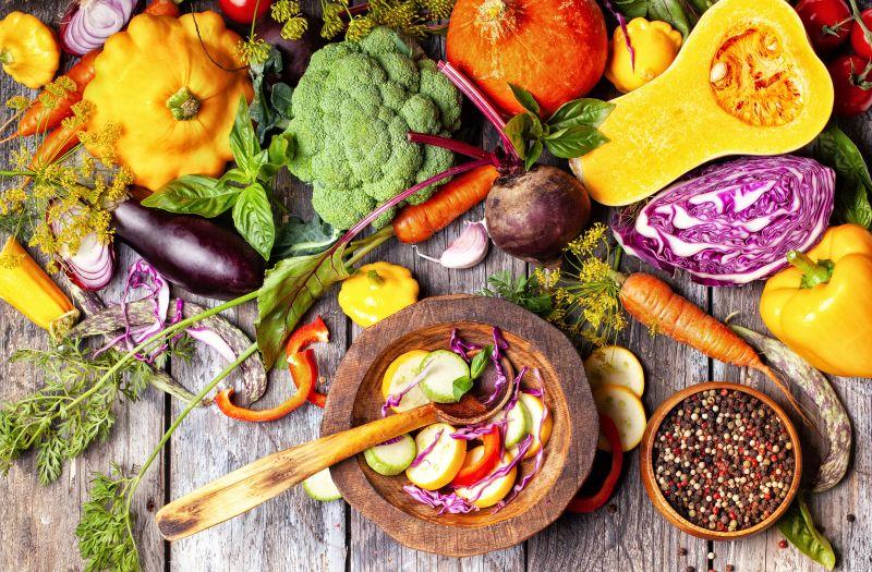 Gemüse als Vitaminspender in der Buddha Bowl