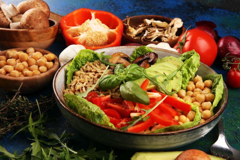Buddha Bowl ein ideales Gericht für Veganer und Vegetarier