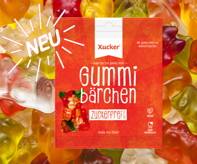 Neu bei Sportnahrung-Engel - Xucker Vegane Gummibärchen ohne Zucker