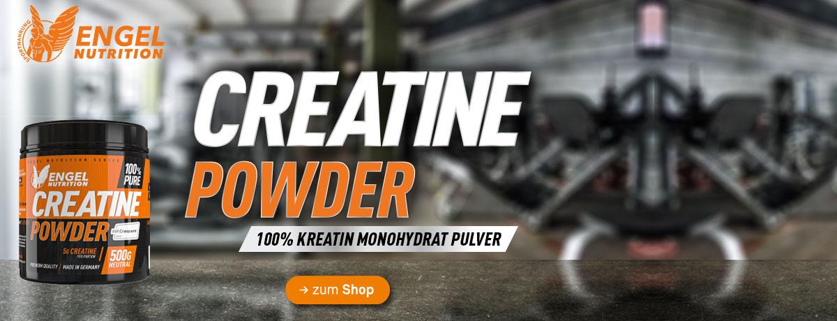 jetzt neu bei Sportnahrung Engel - Engel Nutrition 100% Pure Creatine Powder