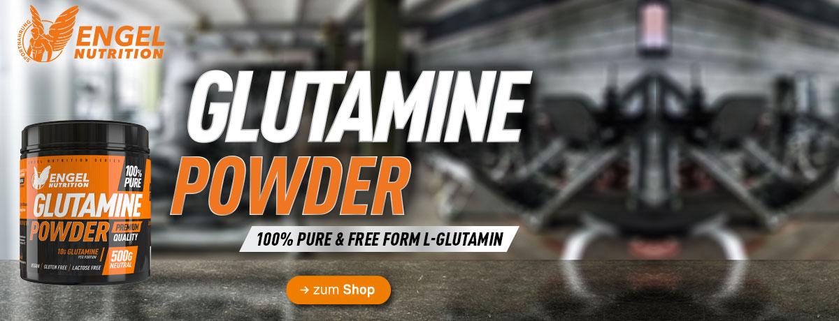 jetzt neu bei Sportnahrung Engel - Engel Nutrition 100% Pure Glutamine Powder