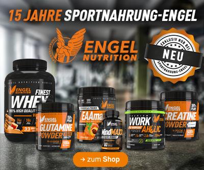 jetzt neu bei Sportnahrung Engel - Engel Nutrition