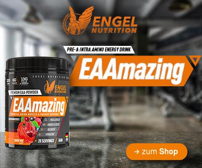 jetzt neu bei Sportnahrung Engel - Engel Nutrition EAAmazing