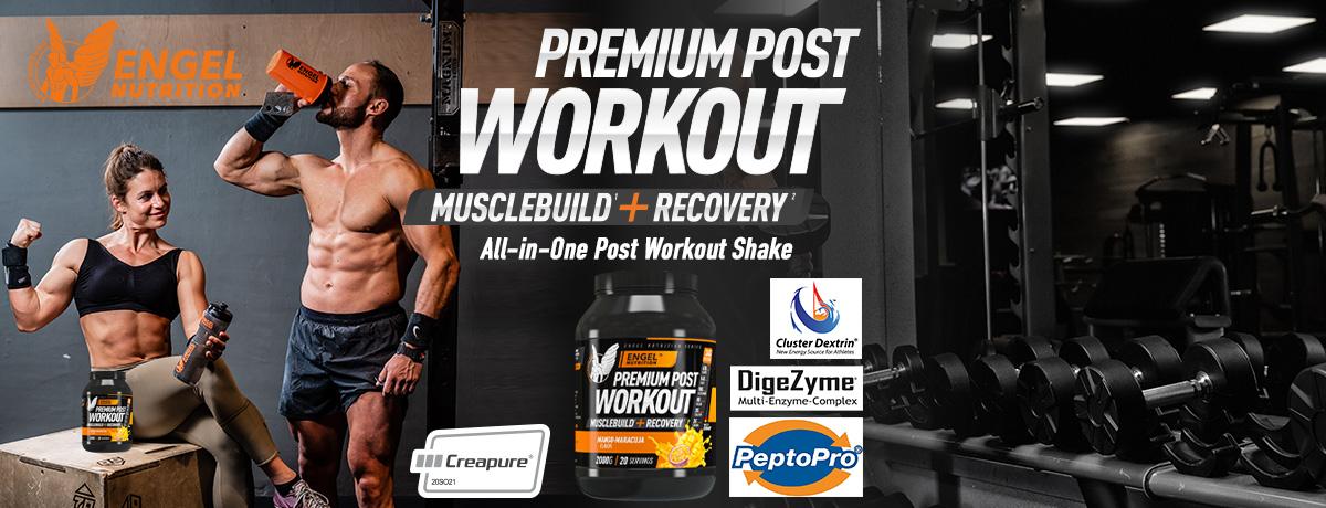 Post Workout Shake zum Muskelaufbau