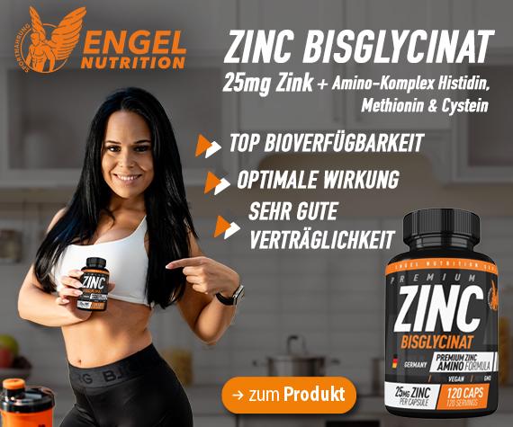Premium Zink Supplement von Engel Nutrition