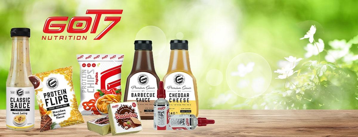 GOT7 Produkte für Diät und Low Carb Ernährung