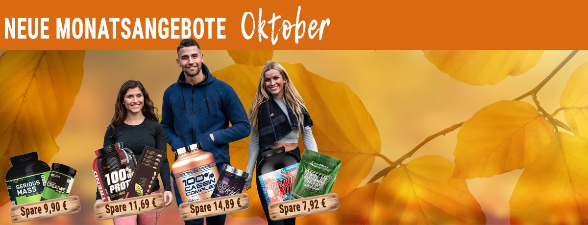 Angebote des Monats Oktober 2019 - Bis zu 50% sparen