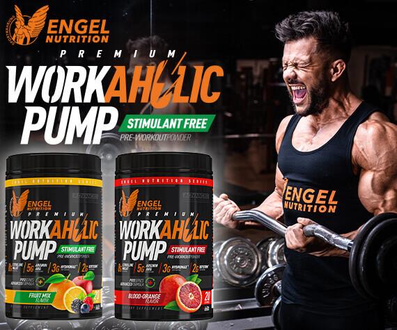 Leistungsstarker Pump Booster von Engel Nutrition