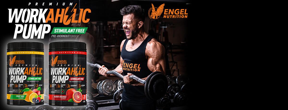 Leistungsstarker Pump Trainingsbooster von Engel Nutrition