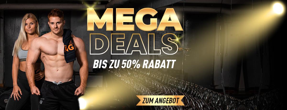 Sporternährung Mega Deals - bis zu 50% günstiger