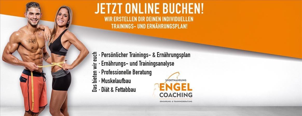 Fitness Online Coaching mit Sportnahrung Engel