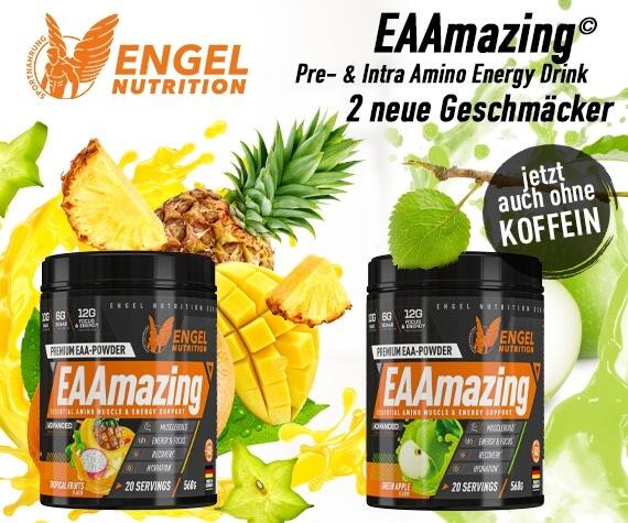 Neu Engel Nutrition Eaamazing jetzt auch ohne Stimulanzien