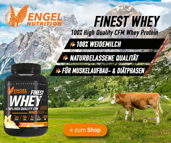 jetzt neu bei Sportnahrung Engel - Engel Nutrition Finest Whey Protein