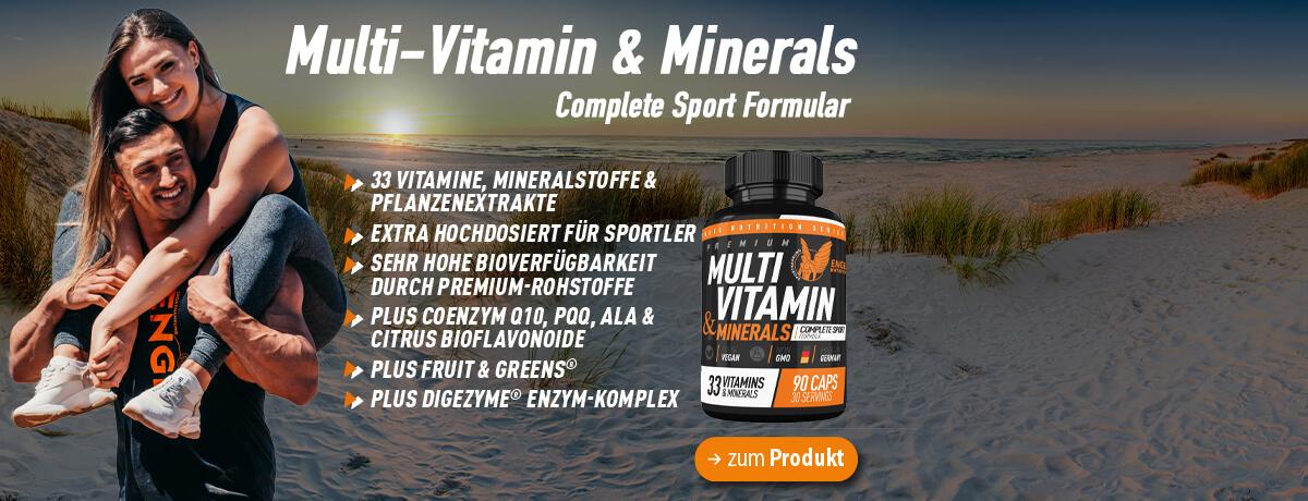 Engel Nutrition Multivitamine und Mineralien