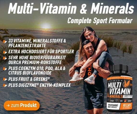 Engel Nutrition Multivitamine und Mineralien für Sportler