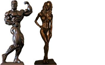 Bodybuilding Figuren das ideale Weihnachtsgeschenk