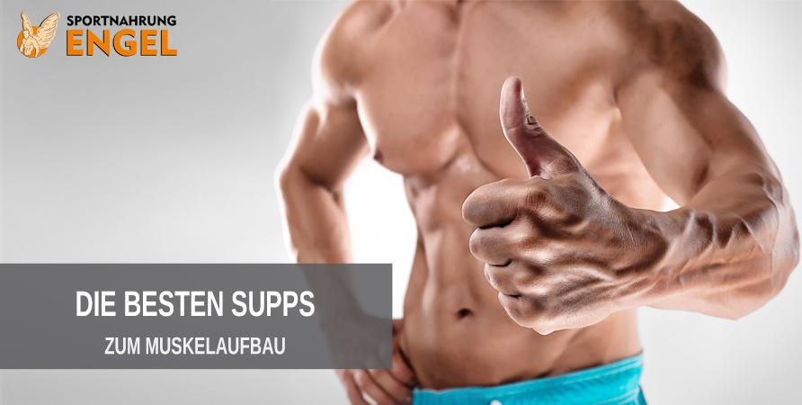 Die besten Supplemente zum Muskelaufbau