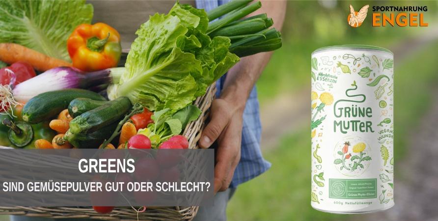 Greens als Nahrungsergänzungsmittel gut oder schlecht?