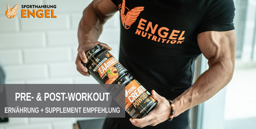 Ernährung und Supplementempfehlung zum Muskelaufbau