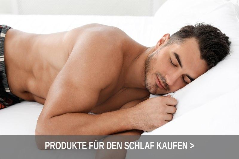 Produkte für einen gesunden Schlaf