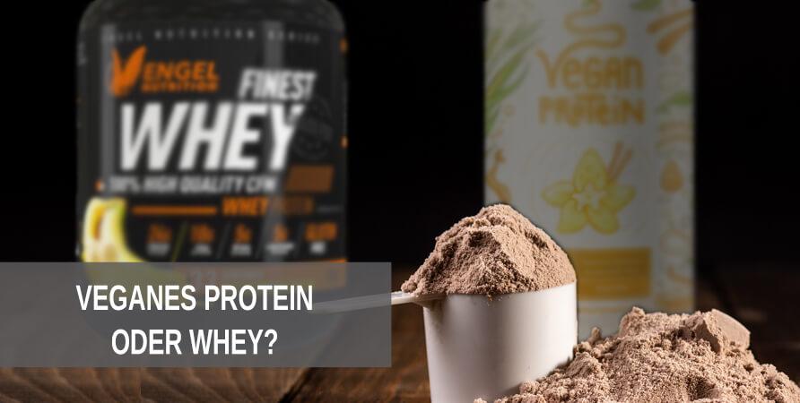 Ist veganes Protein schlechter oder besser als Whey Protein?