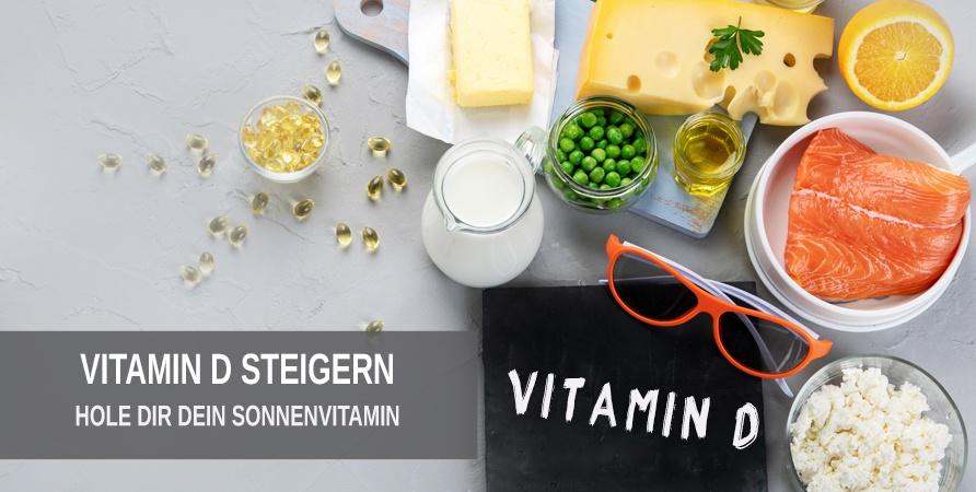 Vitamin D Zufuhr steigern