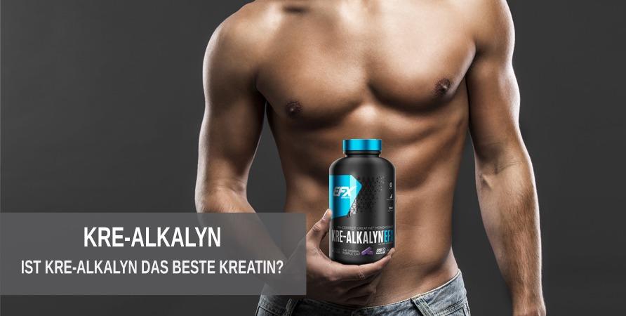 Ist Kre-Alkalyn das bisher beste Kreatin auf dem Markt?