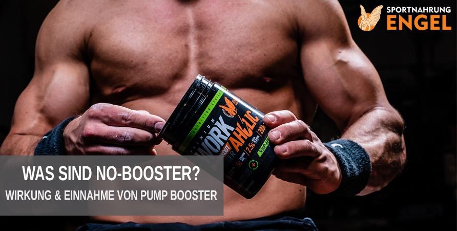 Was ist ein No Booster - Wir erklären Einnahme & Wirkung von Pump Boostern