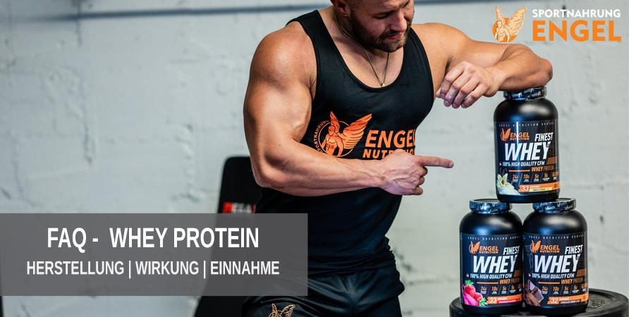 FAQ Whey Protein Herstellung, Wirkung und Einnahme