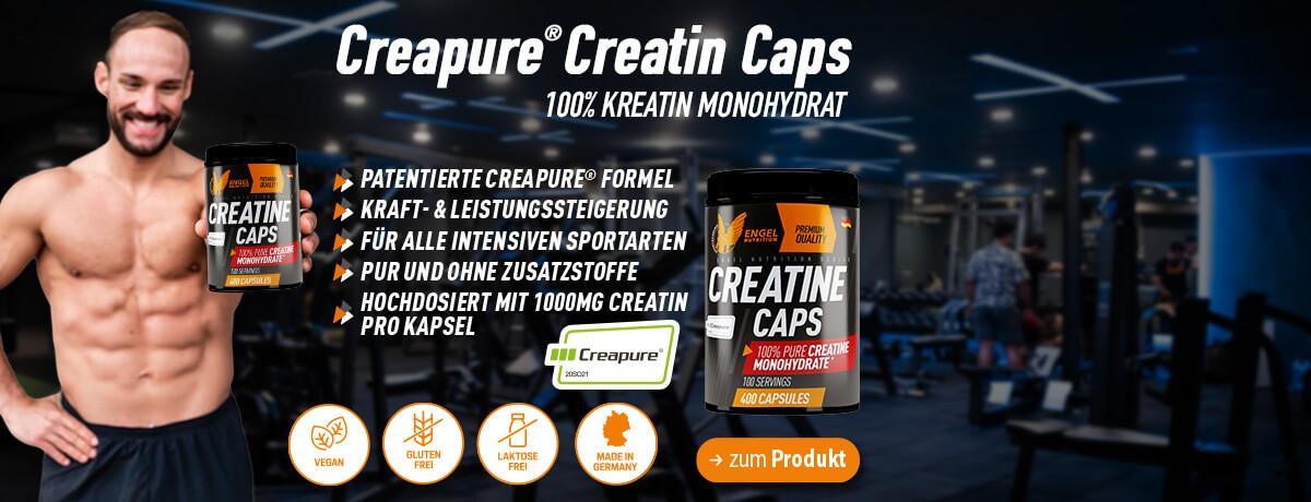 Pure Creatin Caps bei Sportnahrung Engel bestellen