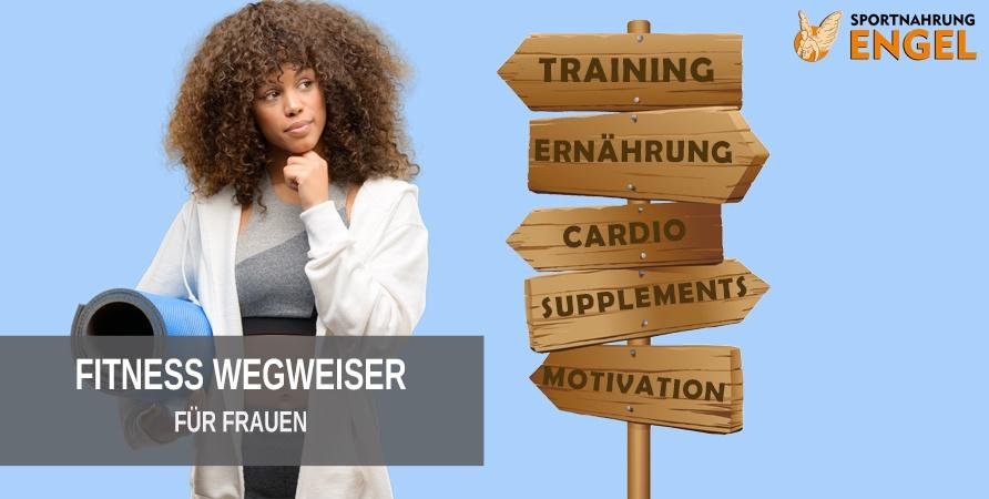 Der große Sportnahrung Engel Fitness Ratgeber für Frauen