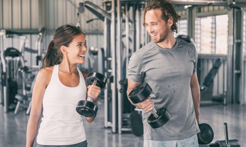 Freihanteltraining verbessert muskuläre Asymetrien