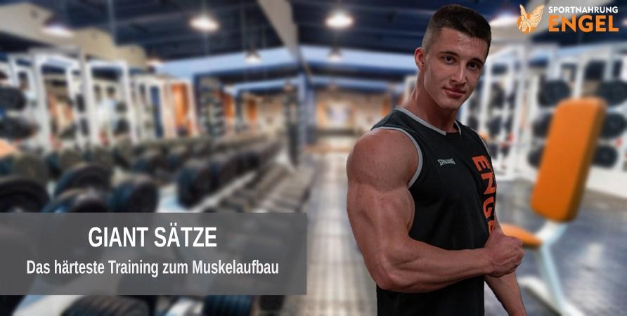 Muskelaufbau mit Giant Sätzen