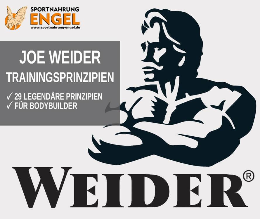 Trainingsprinzipien von Bodybuilding Legende Joe Weider