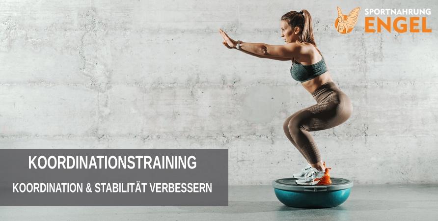 Koordination und Stabilität mit dem Koordinationstraining Trainingsplan verbessern